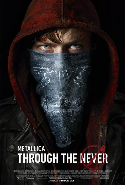 Poster Metallica 3D - Through the Never