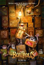 Poster Boxtrolls - Le scatole magiche  n. 1