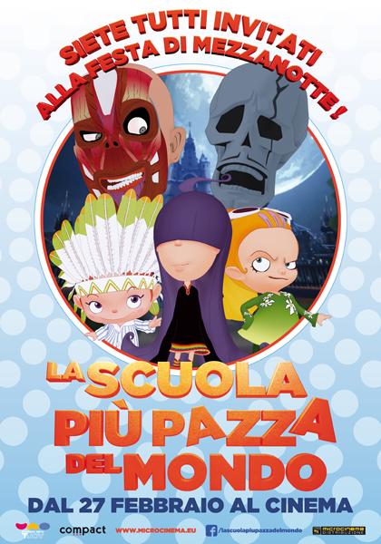 Locandina italiana La scuola più pazza del mondo