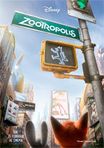 Poster Zootropolis  n. 2