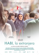 Poster Habi, la extranjera  n. 0