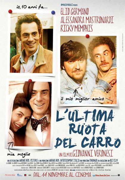 Locandina italiana L'ultima ruota del carro