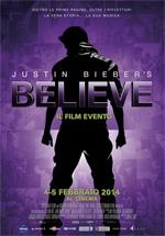 Poster Justin Bieber's Believe  n. 0