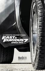 Poster Fast & Furious 7  n. 1