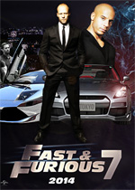 Poster Fast & Furious 7  n. 2