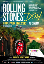 Locandina The Rolling Stones Day - Hyde Park Live