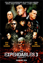 Poster I Mercenari 3 - The Expendables  n. 1