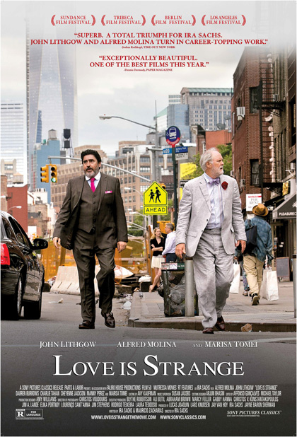 Locandina italiana I toni dell'amore - Love Is Strange