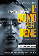Locandina L'uomo per bene - Le lettere segrete di Heinrich Himmler