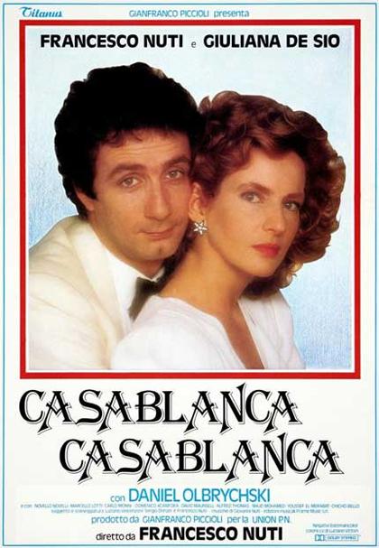 Locandina italiana Casablanca Casablanca