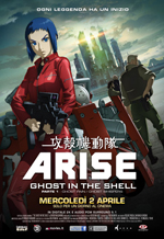Locandina Ghost in the Shell - Arise
