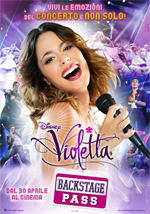 Locandina Violetta - Backstage Pass