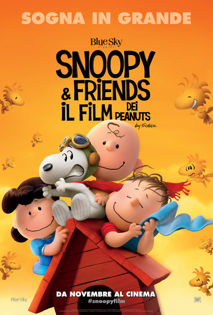 Locandina italiana Snoopy & Friends - Il film dei Peanuts