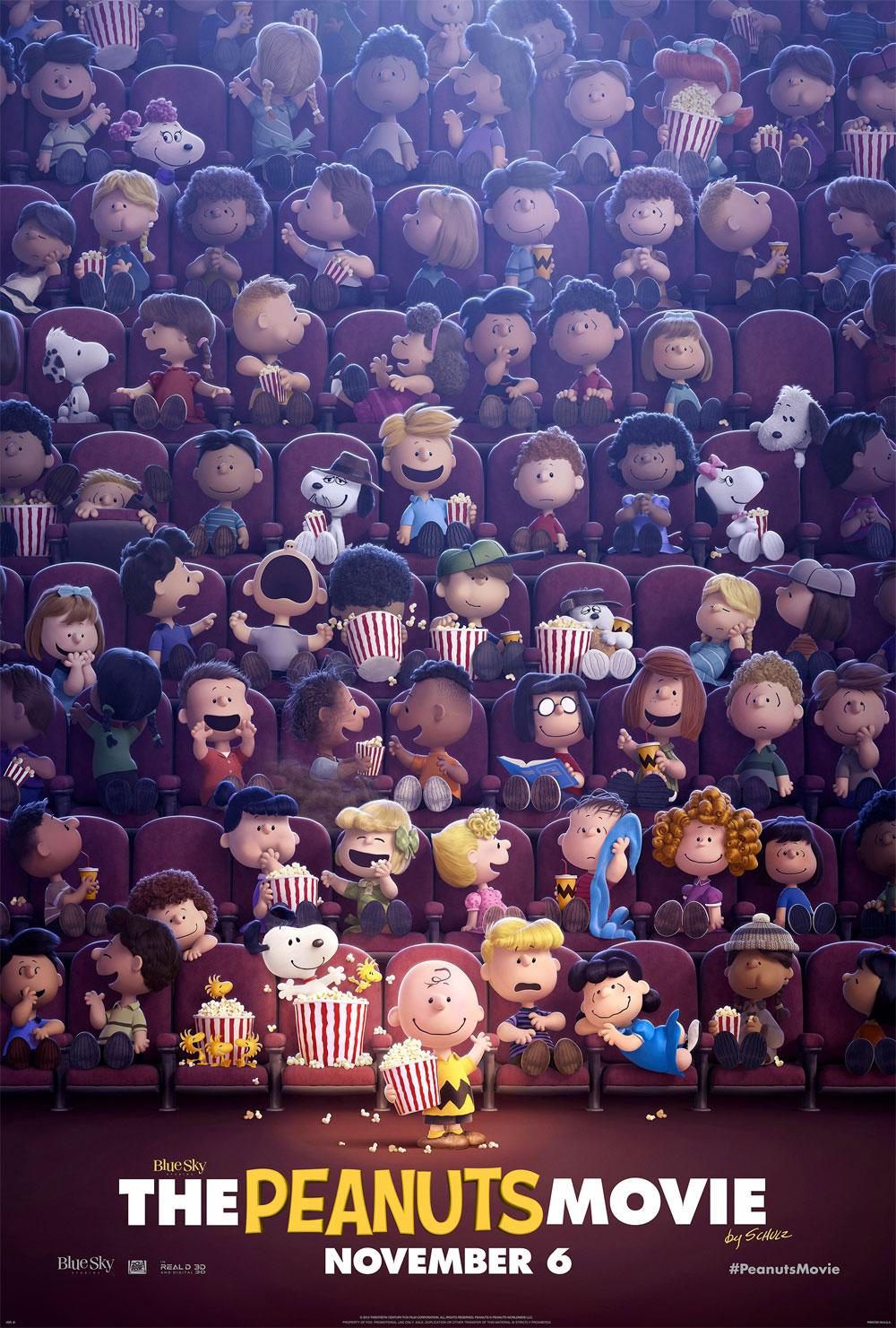 Poster Snoopy & Friends - Il film dei Peanuts