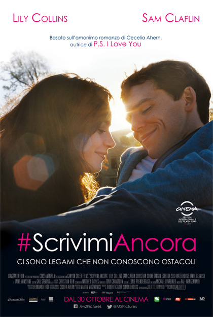 Locandina italiana #ScrivimiAncora