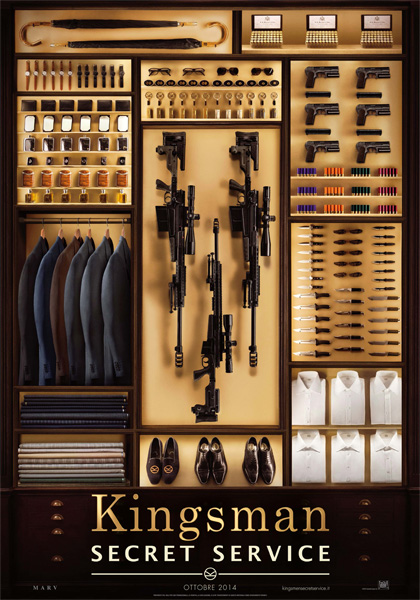 Poster Kingsman - Secret Service