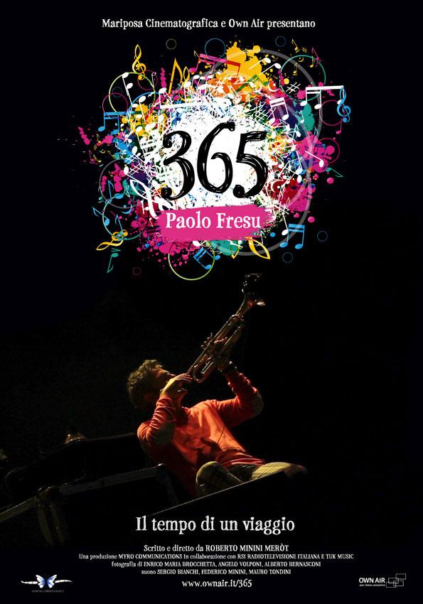 Trailer 365 Paolo Fresu, il tempo di un viaggio