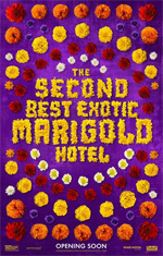 Poster Ritorno al Marigold Hotel  n. 1