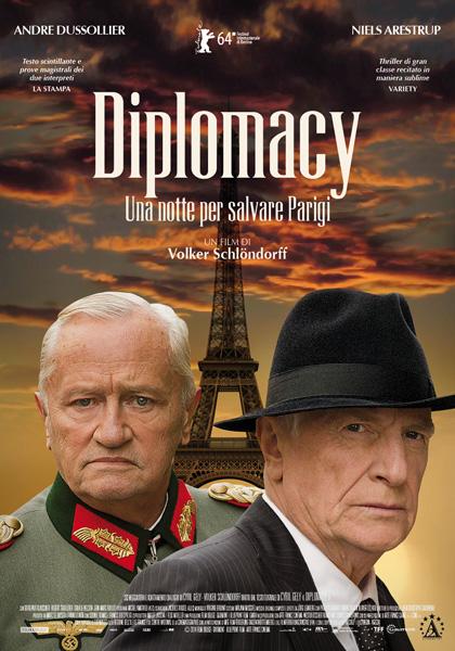 Locandina italiana Diplomacy - Una notte per salvare Parigi