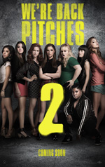 Poster Pitch Perfect 2  n. 2