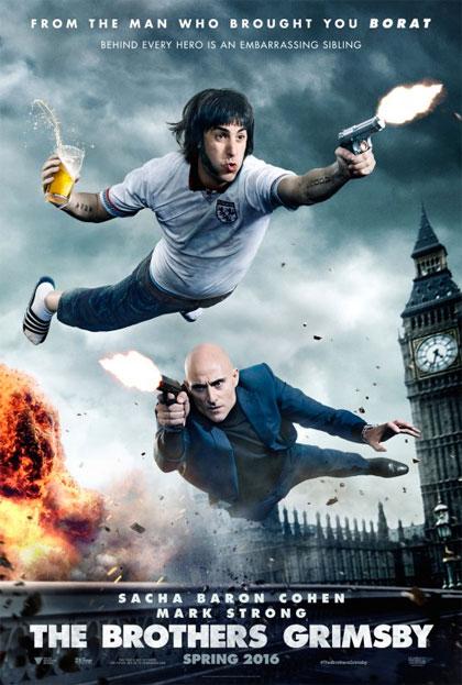 Poster Grimsby - Attenti a quell'altro