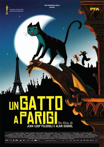 Un Gatto a Parigi - Film (2010) - MYmovies.it
