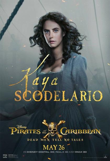 Poster Pirati dei Caraibi - La vendetta di Salazar