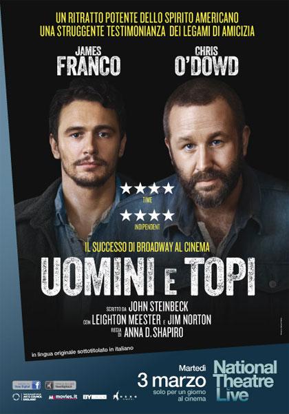 Trailer National Theatre Live - Uomini e topi