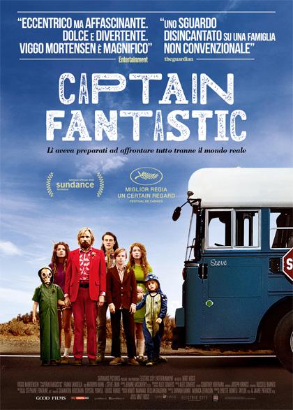 Locandina italiana Captain Fantastic