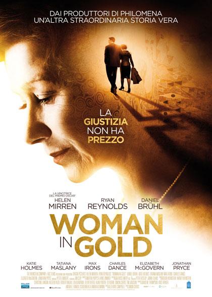 Premium Cinema Woman In Gold -