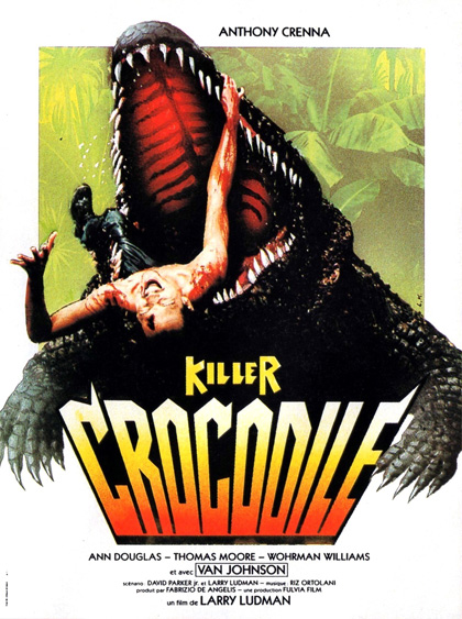Locandina italiana Killer Crocodile
