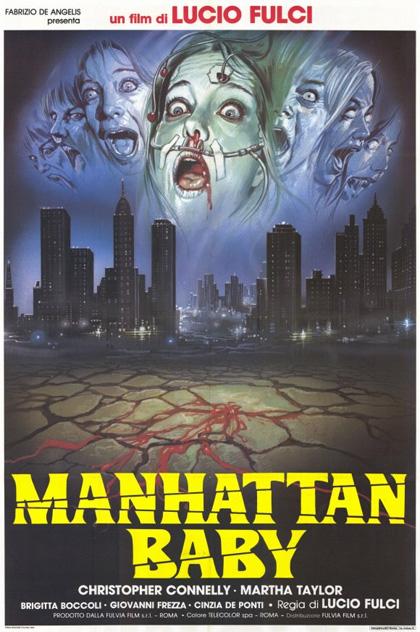 Locandina italiana Manhattan Baby - L'occhio del male