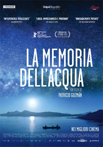 Locandina italiana La memoria dell'acqua