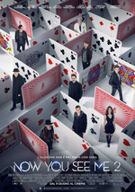 Poster Now You See Me 2 - I maghi del crimine  n. 0