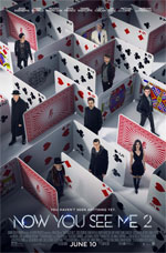 Poster Now You See Me 2 - I maghi del crimine  n. 10
