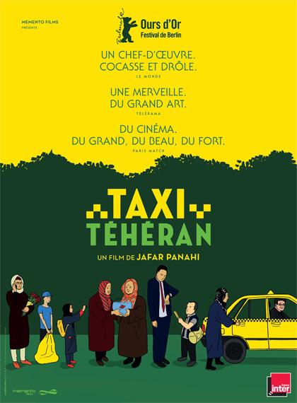 Poster Taxi Teheran