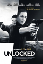 Poster Codice Unlocked - Londra sotto attacco  n. 1