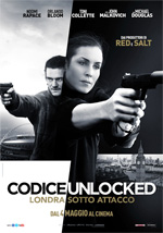 Poster Codice Unlocked - Londra sotto attacco  n. 2
