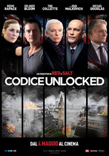 Locandina italiana Codice Unlocked - Londra sotto attacco