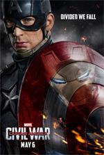 Poster Captain America: Civil War  n. 2