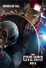 Poster Captain America: Civil War  n. 3