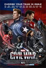 Poster Captain America: Civil War  n. 6