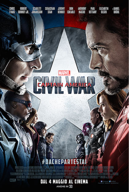 Risultato immagini per captain america civil war