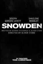 Poster Snowden  n. 2