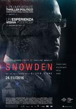 Poster Snowden  n. 3