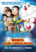 Locandina Doraemon il film: Nobita e gli eroi dello spazio