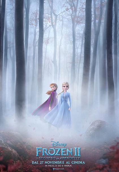 Poster Frozen II - Il segreto di Arendelle