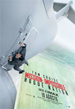 Poster Mission: Impossible - Rogue Nation  n. 2