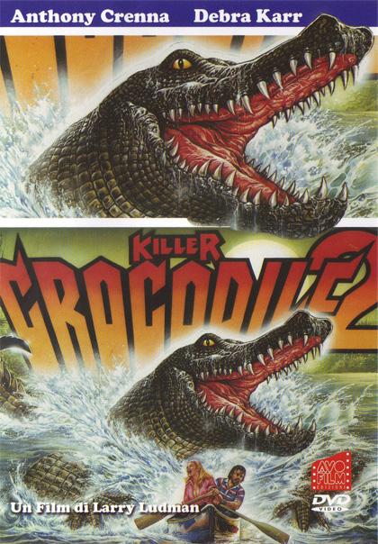 Locandina italiana Killer Crocodile 2