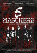 Poster 5 maschere  n. 0